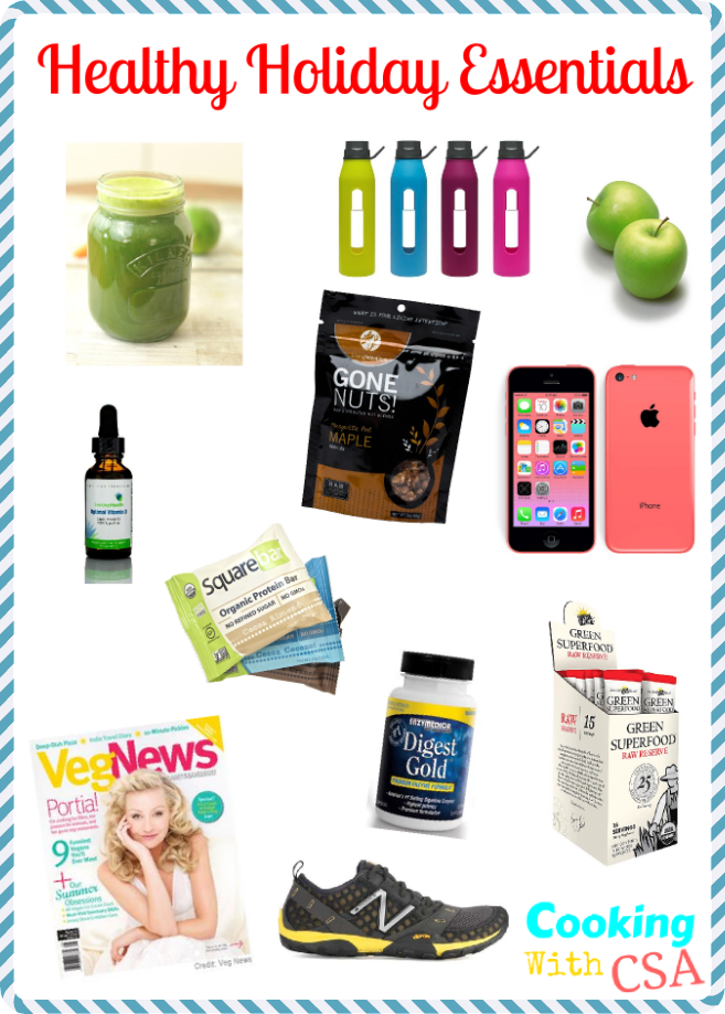 Healthy Holiday Essentials 2