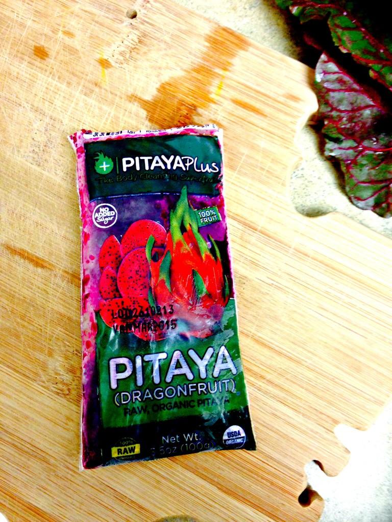 Pitaya smoothie packet recipe